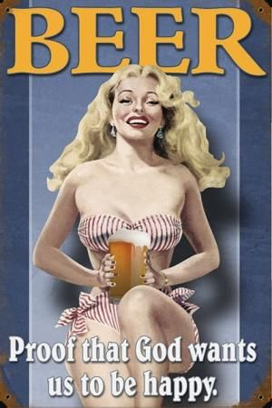 Sexy beer posters