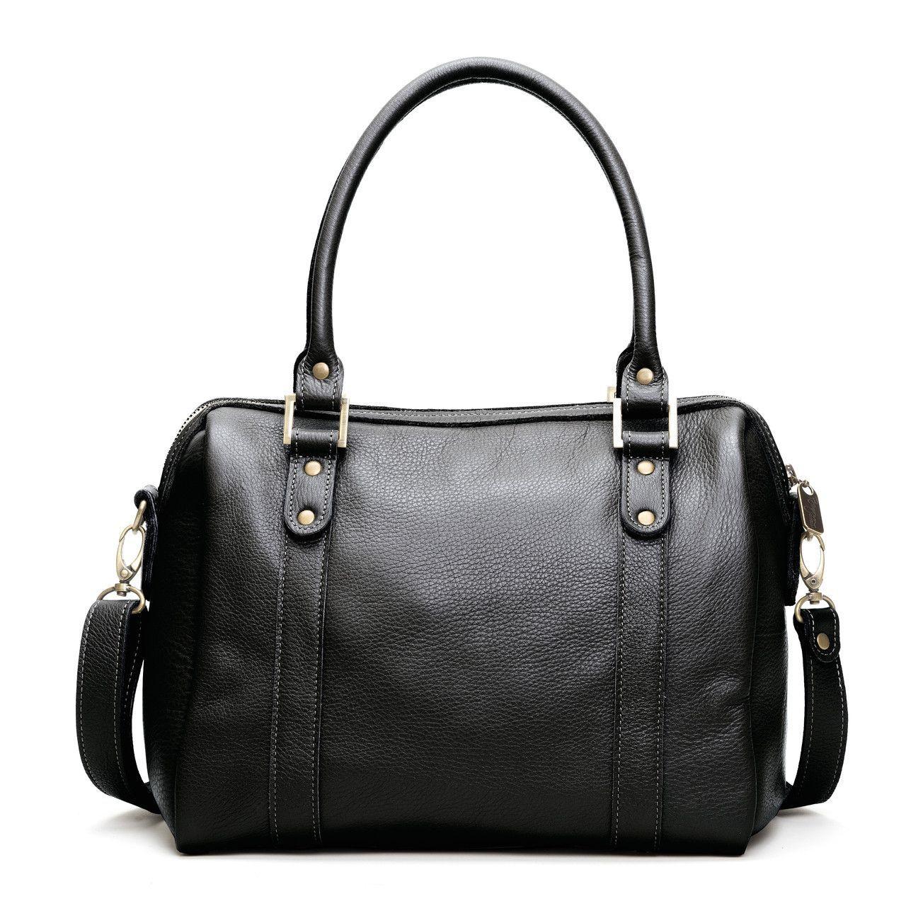 Angi Leather Satchel