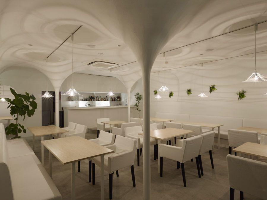 Efecto De Iluminación Se Aumenta El Efecto De Los Pilares Curvos - A step up in amazing architecture la