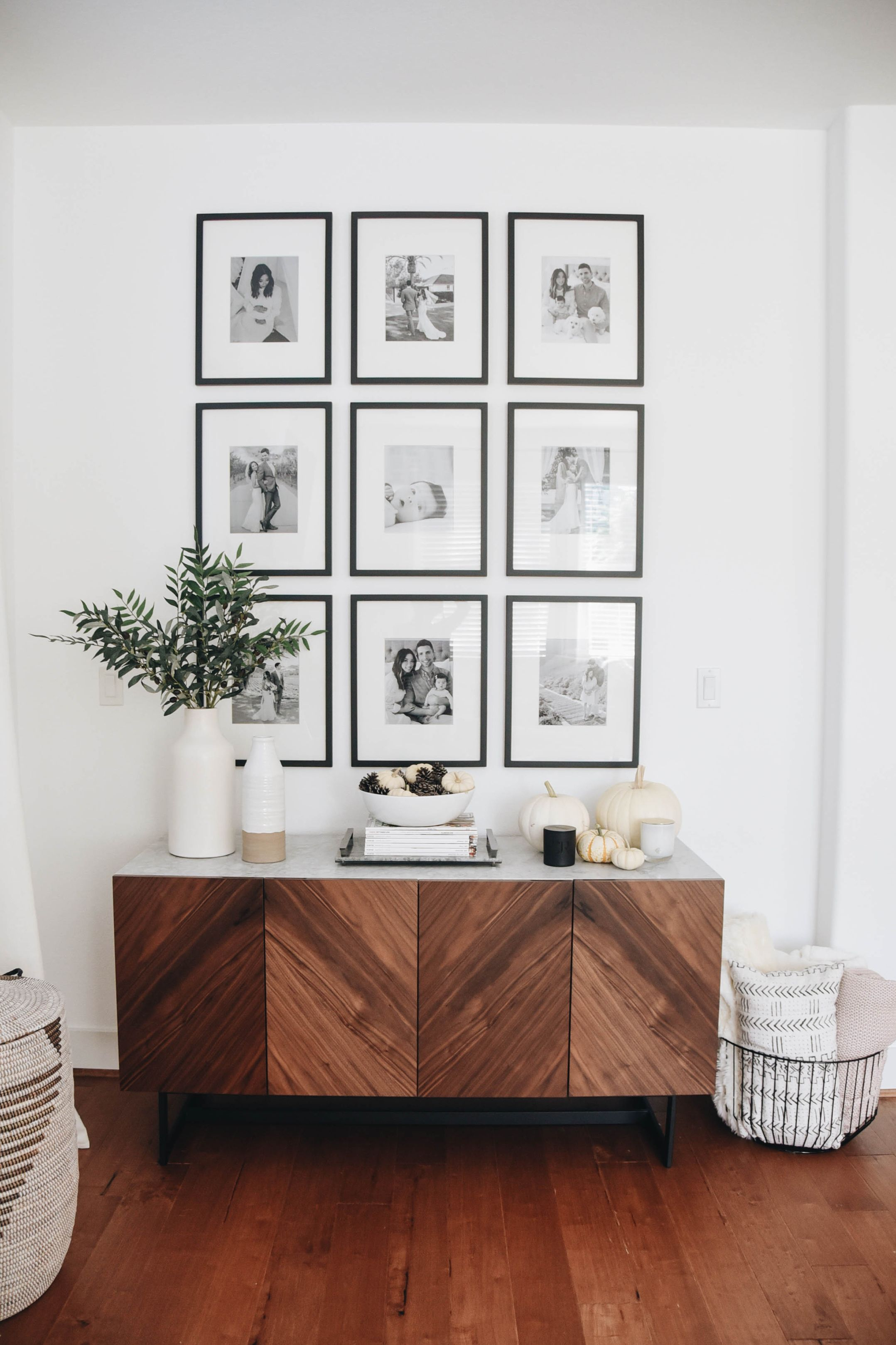 Photo of Our Living Room Gallery Wall: Tips and Sources