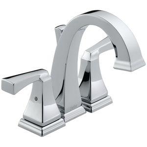 Delta Faucet D4551 Dryden 4\'\' Minispread Bathroom Faucet - Chrome ...