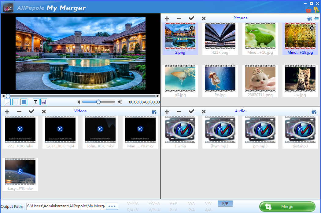 My Merger is video joiner software developed by AllPepole