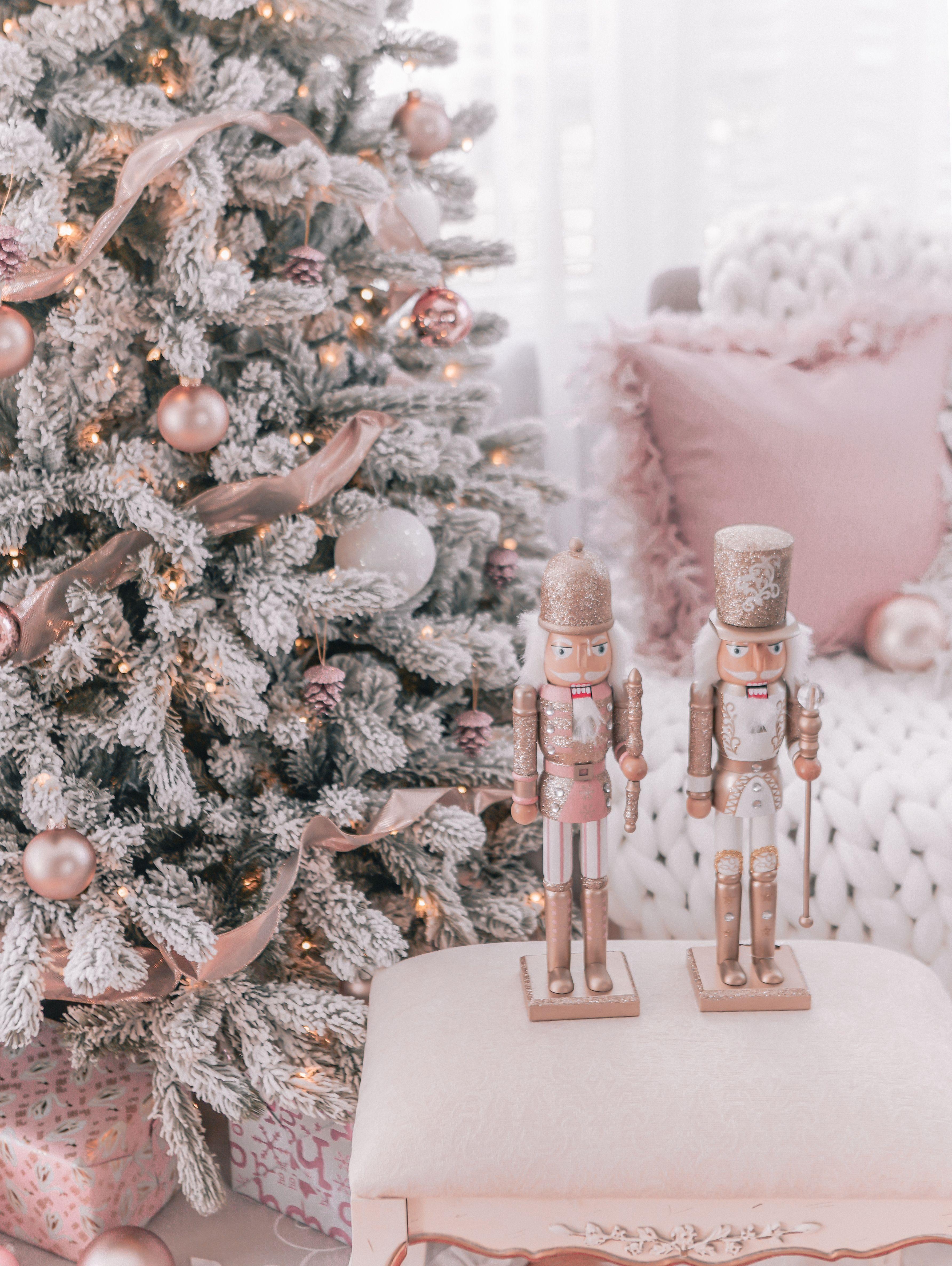Н™³ðšŽðšŸðš'𝚗𝚒𝚝𝚢𝚢 Gold Christmas Decorations Rose Gold Christmas Pink Christmas Tree Decorations