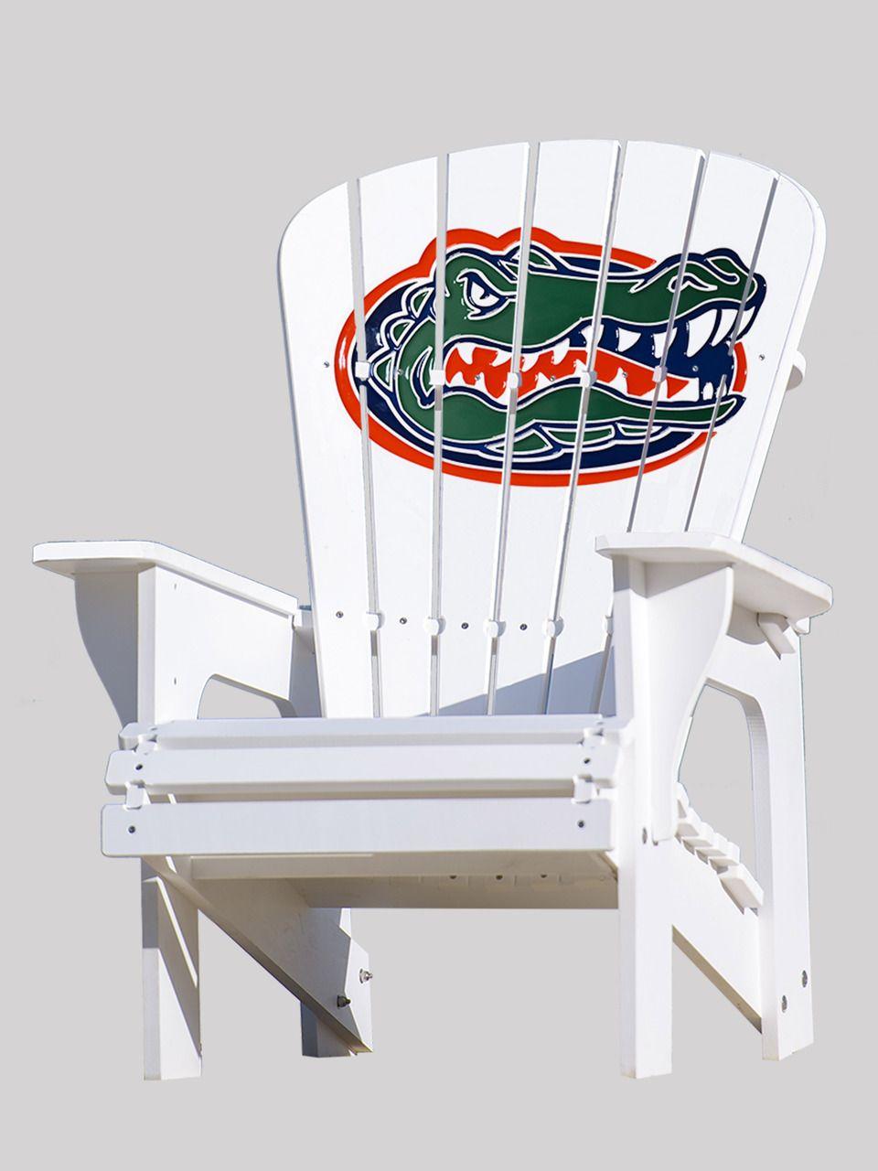University Of Florida Gators Adirondack Chair Patio Chairs