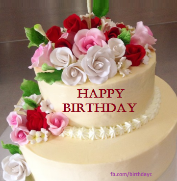 Image May Contain Flower And Food Happy Birthday Wishes Cake Happy Birthday Wishes Cards Happy Birthday Cake Images