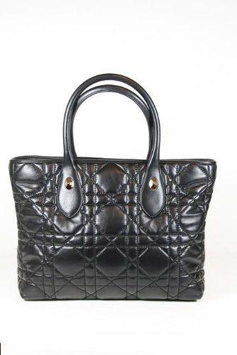 Christian Dior Handbags Large Black Lamb Leather M04010AS Christian Dior, http://www.amazon.com/dp/B005YPWFUY/ref=cm_sw_r_pi_dp_shPKqb0CAZYF5