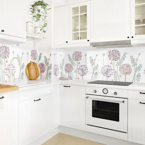 Photo of August Grove PVC splash protection panel self-adhesive Cavalier | Wayfair.de