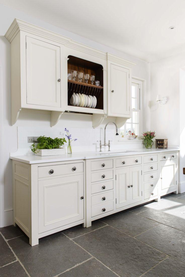White Modern Country Kitchen Miranda Gore Browne's Chalon Modern Country Kitchenclick Through