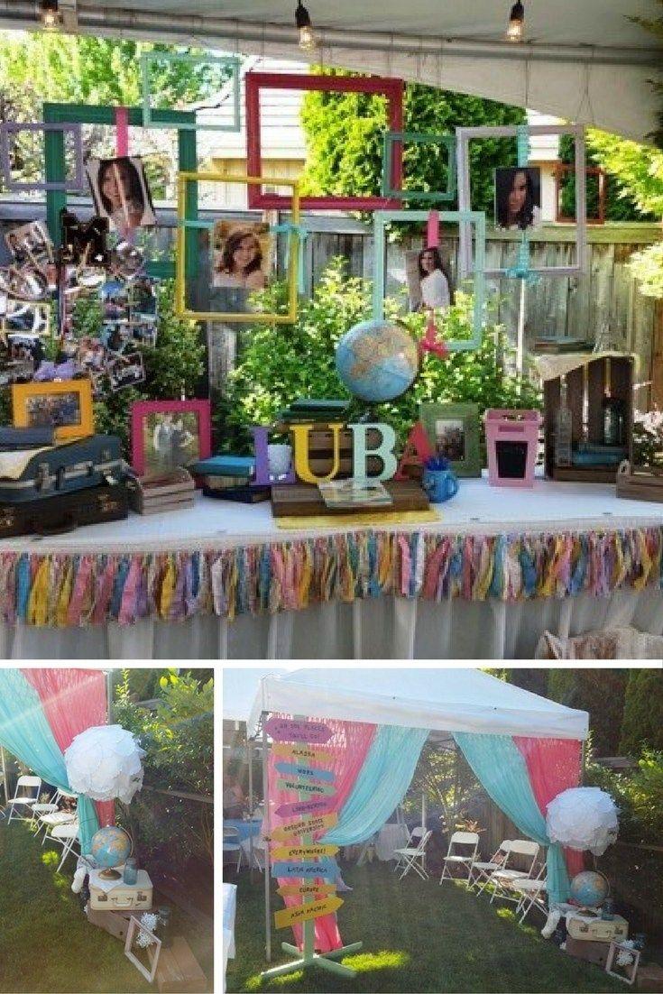 oh the places you'll go graduation party theme. dr seuss party. grad