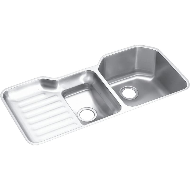Elkay Eluh4221r Double Bowl Kitchen Sink Stainless