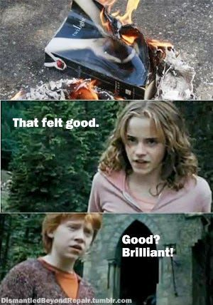 Harry Potter memes: Bloody Hell, Hermione! AWESOME!
