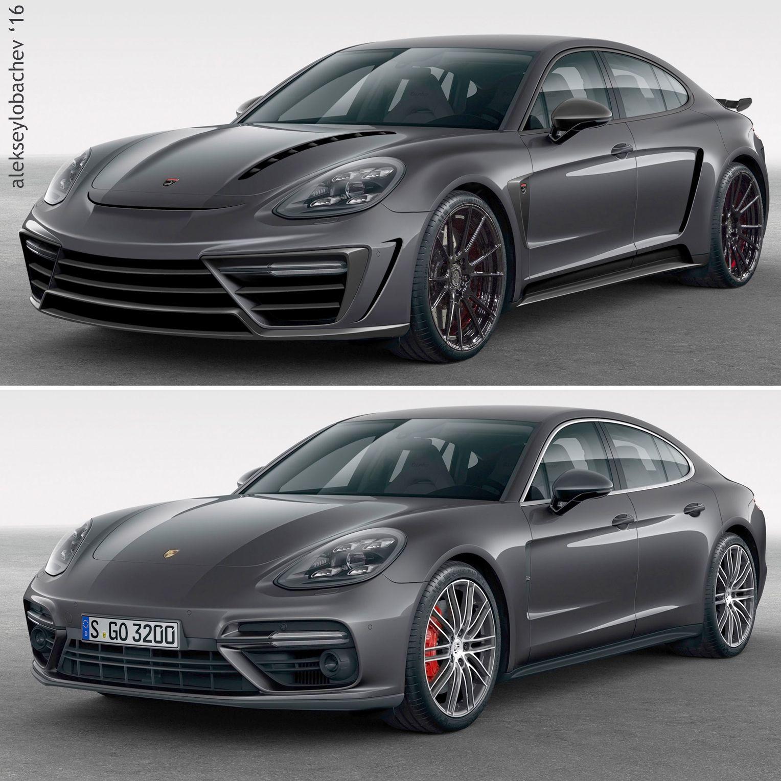 Porsche Car Show: Sketch Porsche Panamera 2017 Top Car