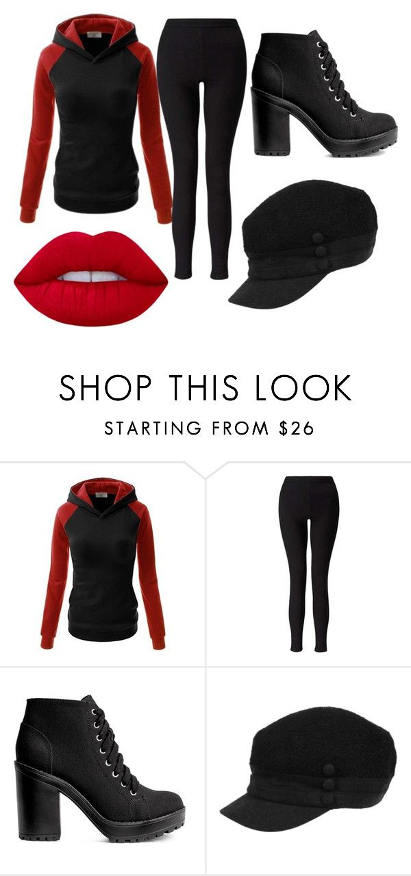"""""""Comfortable Dark"""" by aristanae-amentia-van-hofen on Polyvore featuring Miss Selfridge, H&M and Lime Crime"""