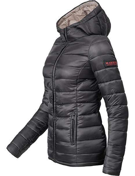 Farben Marikoo Damen Steppmantel XXL Mantel hergestellt6 Novavegan Winter XS doQWxrCeEB