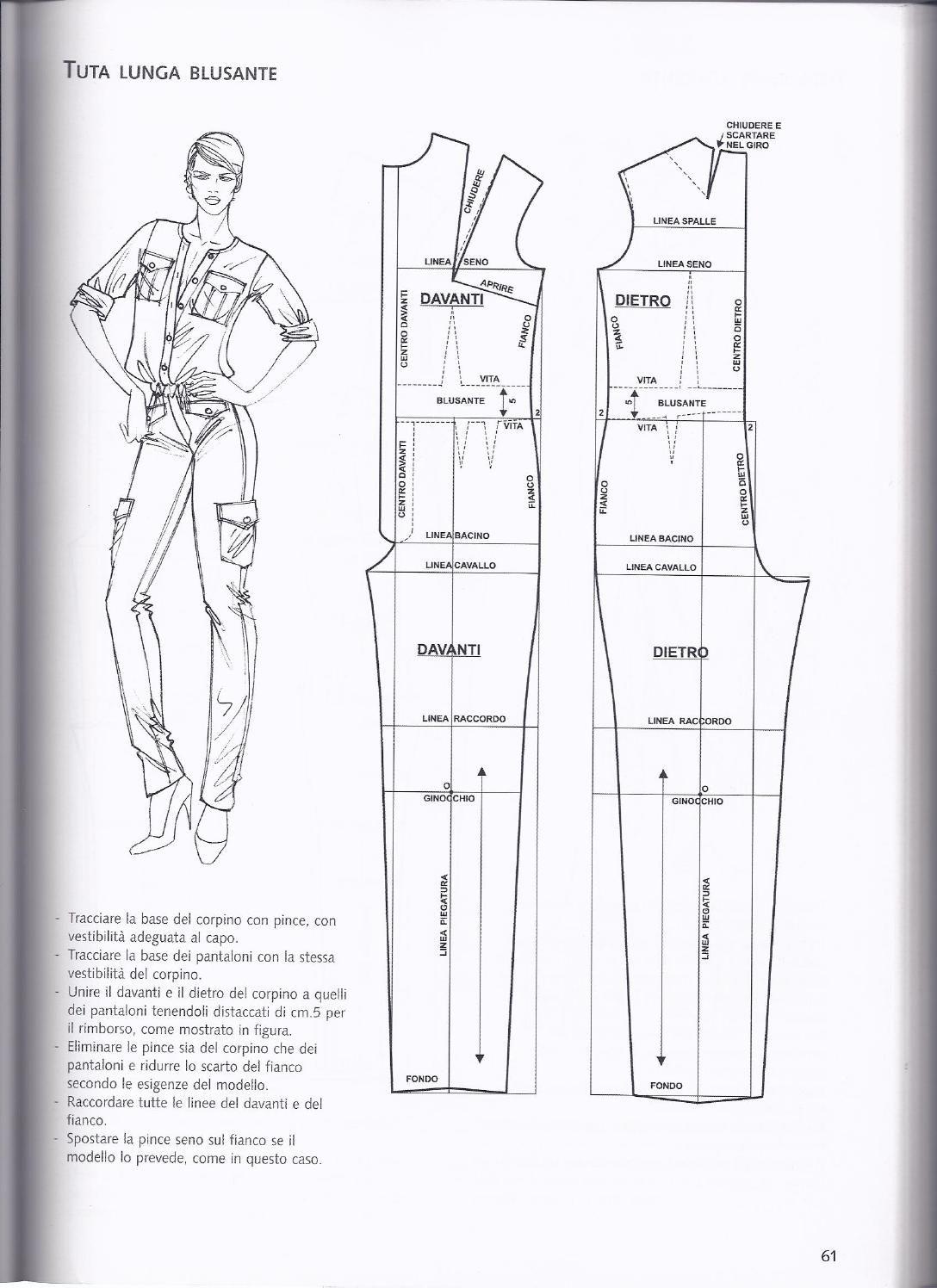 jumpsuit | COSTURERO | Pinterest | Patrones, Costura y Moldes