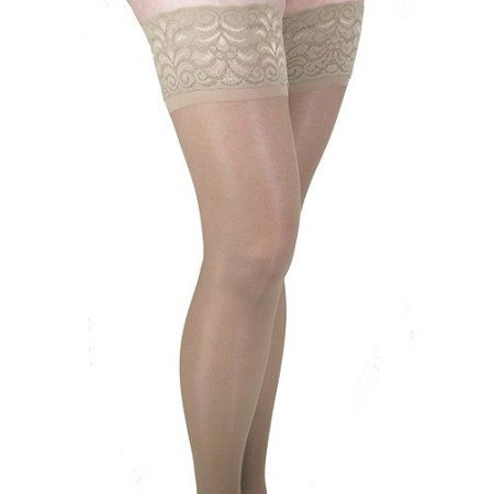 795b98392de ITA-MED Sheer Thigh Highs - Compression Stockings (23-30 mmHg)  H-80