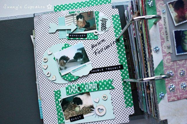 Diy memory book im scrapbook fieber teil 2 sunny 39 s cupcakes konstanz scrapbooking ideas - Scrapbook ideen ...