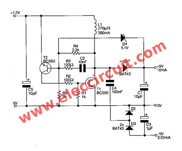 dc dc converter dc12v to 24v 2a by ic 40106 and mosfet buz11