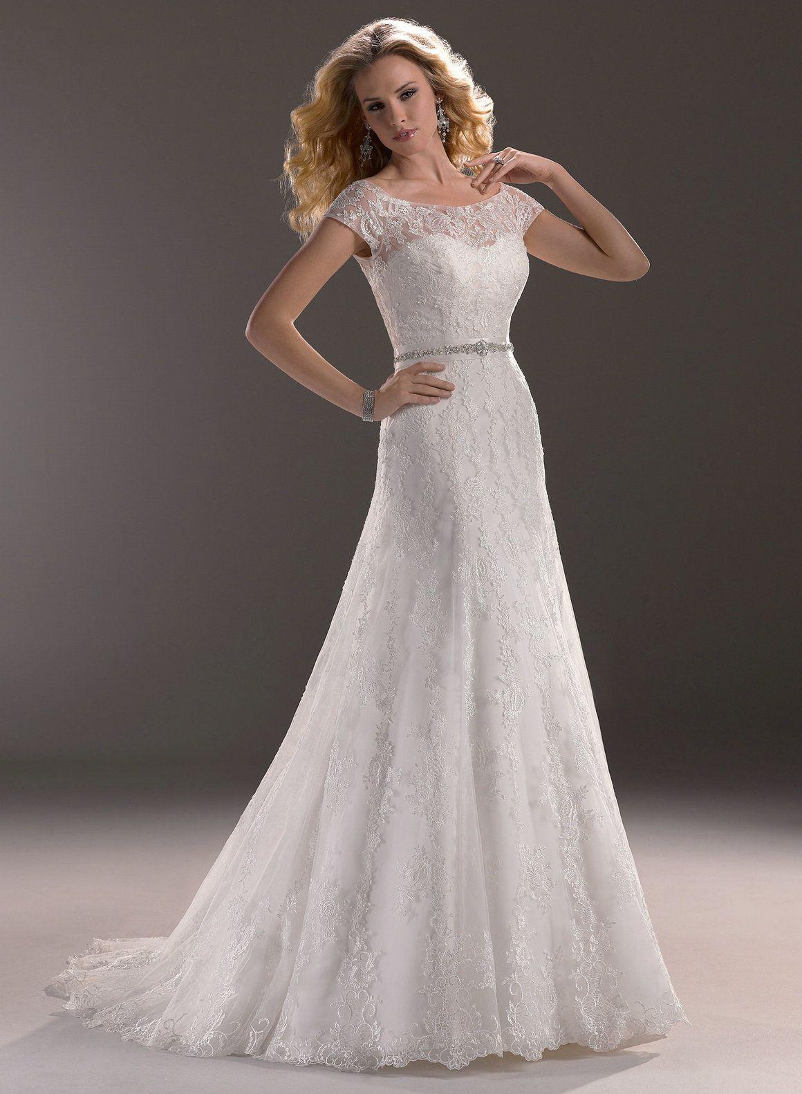 Ideal A Line Wedding Dresses : A Line Wedding Dresses Sweetheart ...