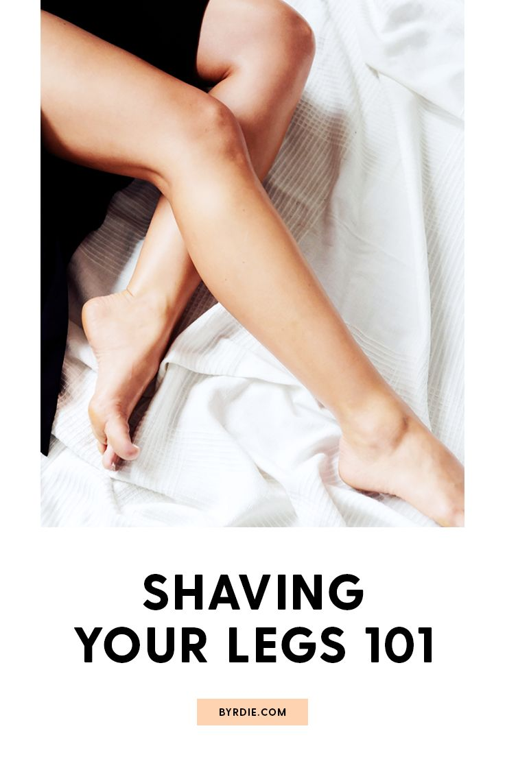 You've been shaving your legs all wrong
