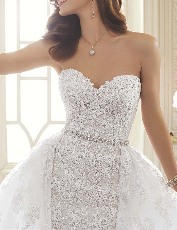 Darlingu womens mermaid wedding dress 2017 lace appliques