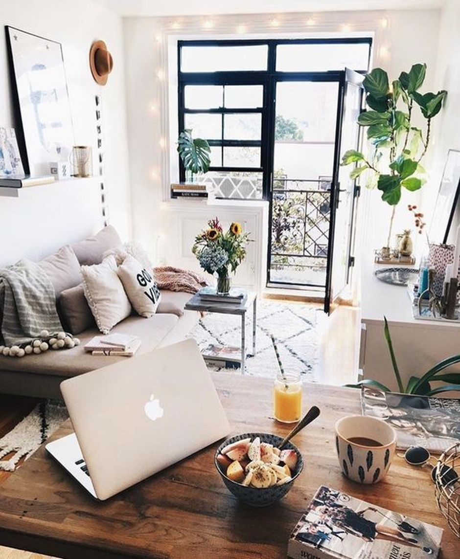 Modern Bohemian Home Decorations And Setup 48 Small Apartment Decorating Apartment