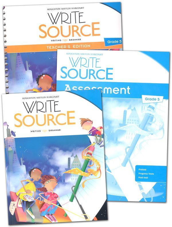 Write Source 2012 Edition Grade 5 Set Homeschooling