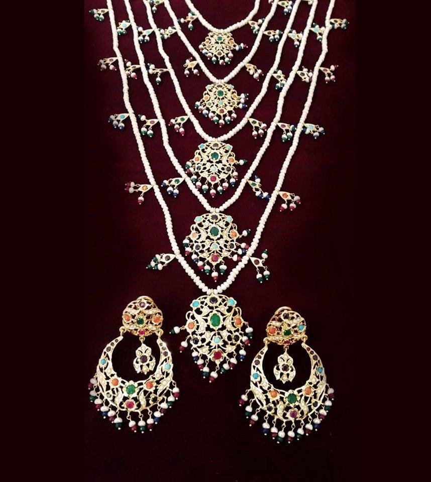 925 Silversatlada Indian Jewelry Set Polki Kundan Etsy Indian Jewelry Sets Indian Wedding Jewelry Sets Mughal Jewelry