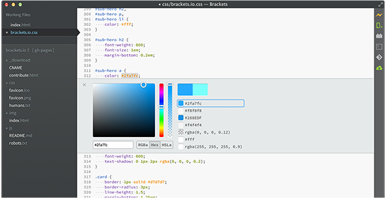 Brackets Is An Open Source Code Editor For Web Designers And Front End Developers Open Source Code Web Development Tools Coding