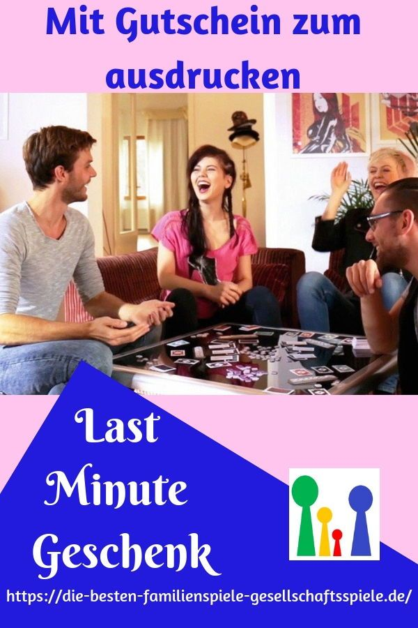 Der Last Minute Geschenk Tipp - mit gratis Gutschein zum ...