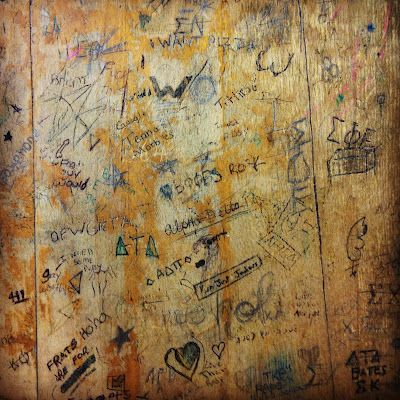 Sushipot: School Desk Graffiti | D&AD: New Blood Monotype ...