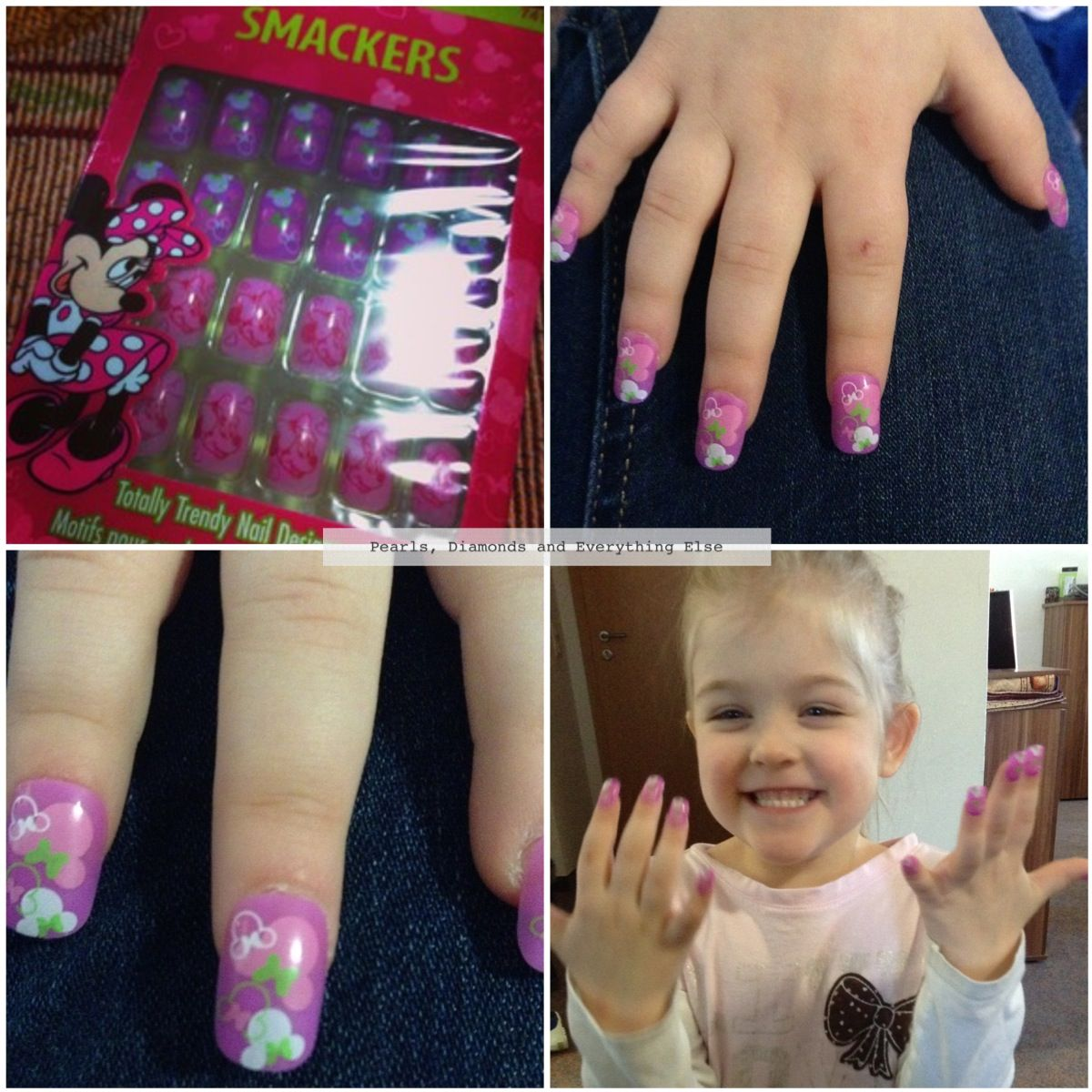 Smackers Press On Nails For Kids Nails For Kids Press On Nails Girl Sleepover