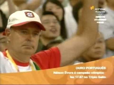Nelson Évora é Campeão Olímpico em Pequim 2008