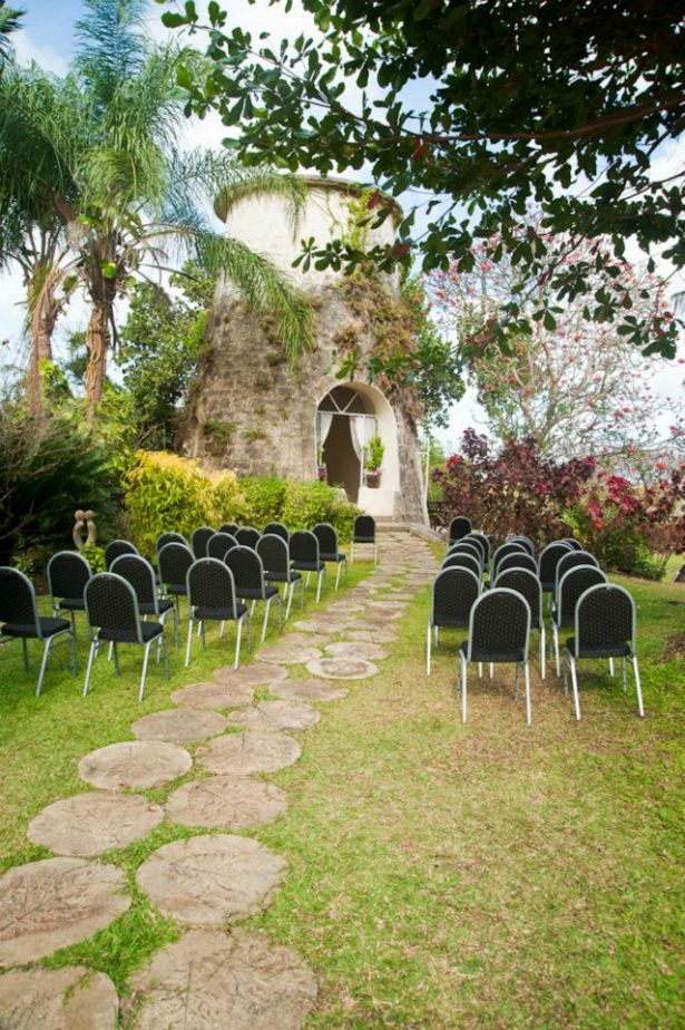 Pollards Mill In Barbados Set For A Wedding Beautiful Area