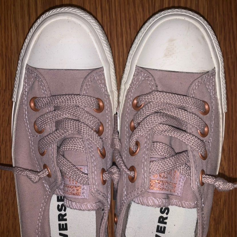 Converse shoreline sneaker in the color taupe (looks like a