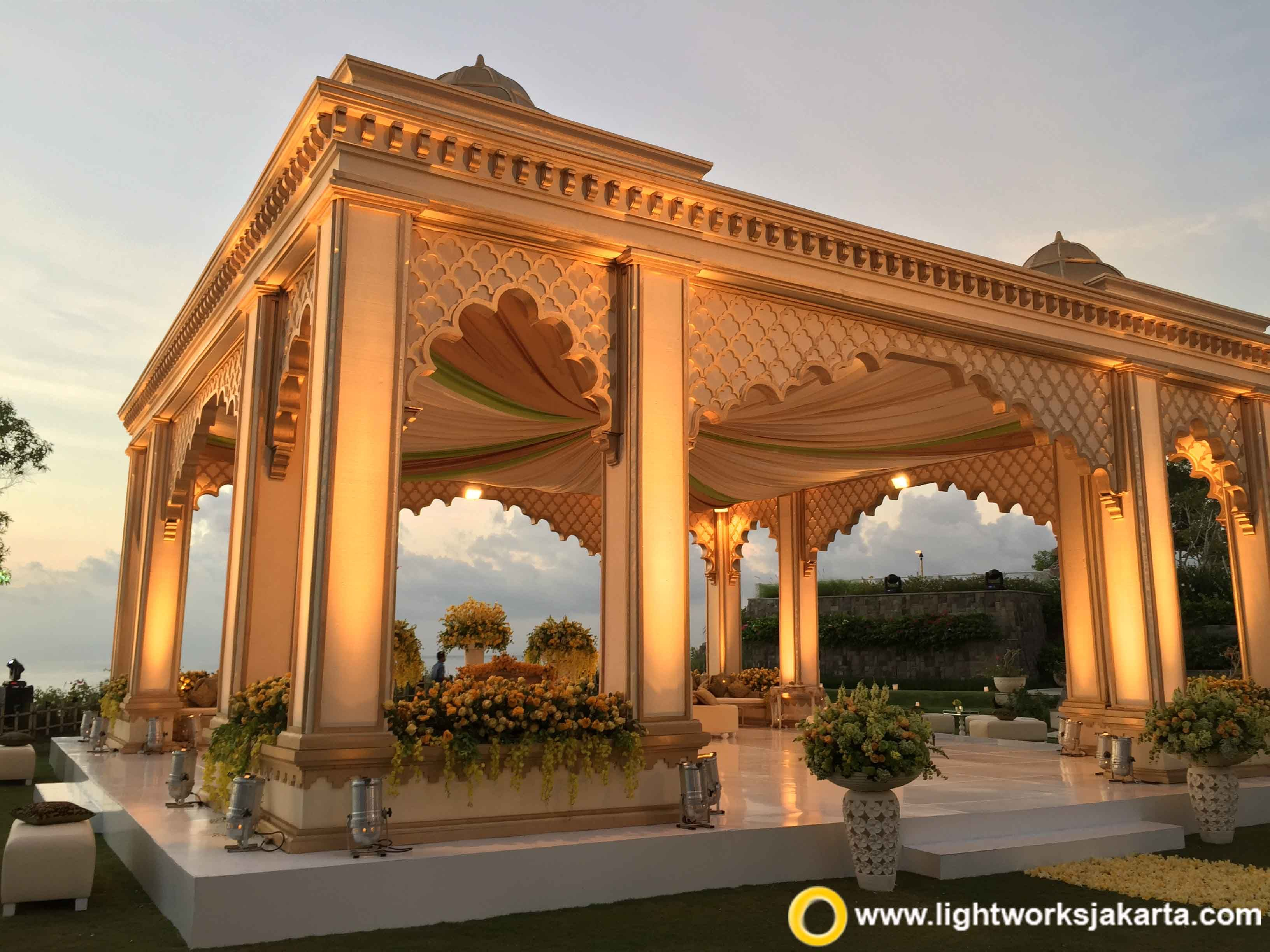 Little Taj Mahal for Ray and Ria\'s Mehndi Night at Ayana Resort ...