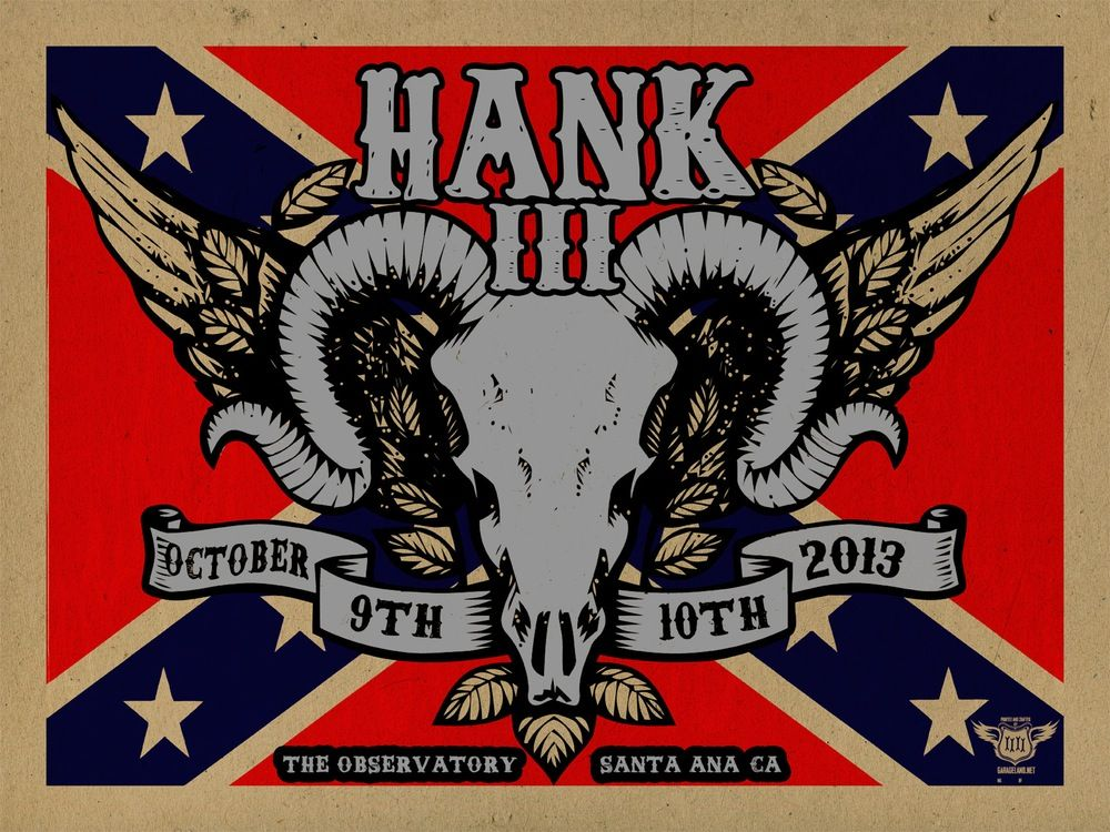 Hank Williams Iii Logo Hank Iii Art Image Of Hank Iii The 3