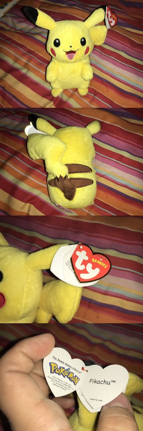 186931dfb8f Retired 440  Pokemon Pikachu Ty Beanie Baby Brand New With Tag Uk Exclusive  -  BUY IT NOW ONLY   54.99 on  eBay  retired  pokemon  pikachu  beanie   brand   ...