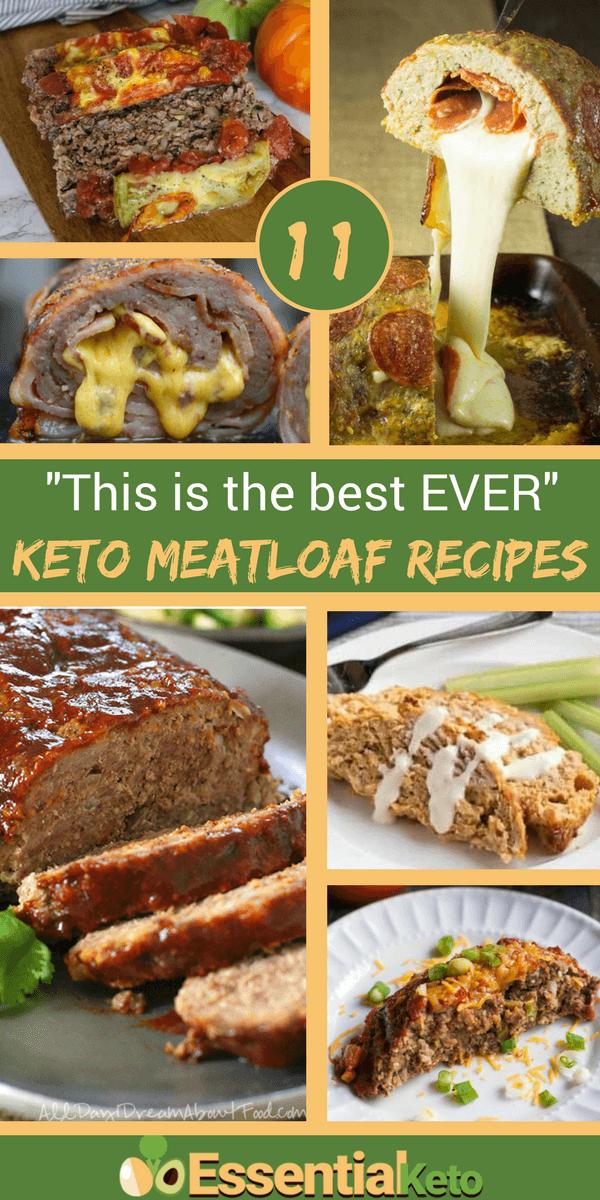 11 Best Keto Meatloaf Recipes Essential Keto Meatloaf Recipes Healthy Meatloaf Recipes Classic Meatloaf Recipe