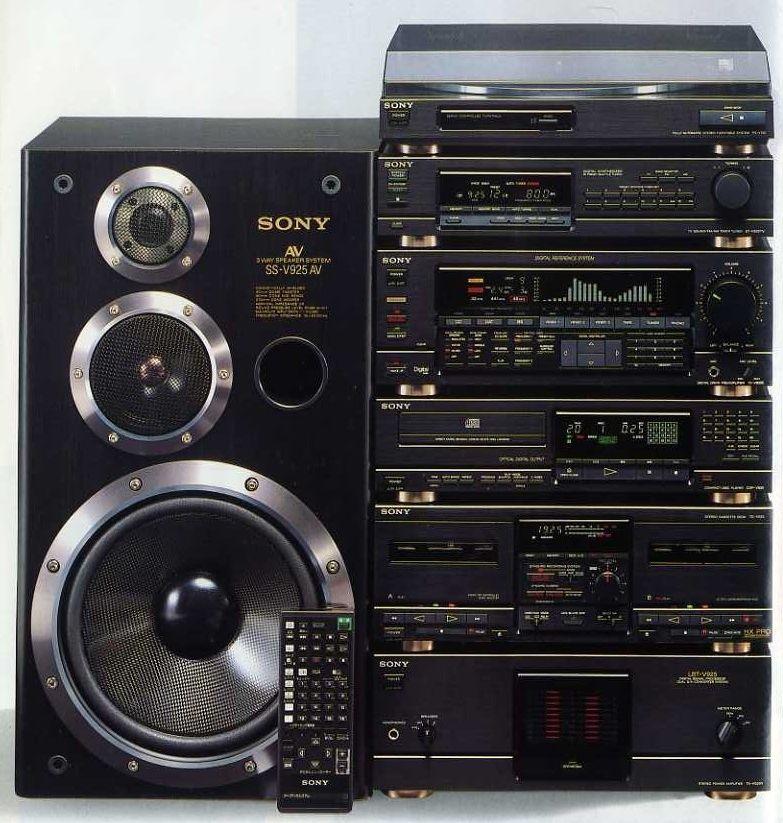 Digital Sound Menu 1988 Sony Dd Liberty V925 Som De Casa
