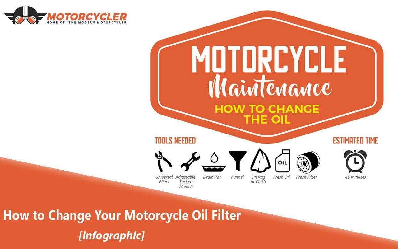 How to Change Your Motorcycle Oil Filter [Infographic ...
