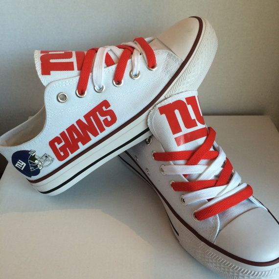 092379f30e2 New york giants teninis shoes by sportzshoeking on Etsy