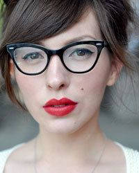59493605154 Vintage Cat Eye Glasses. What more can you ask for  Ray Ban eyeglasses  RX5226