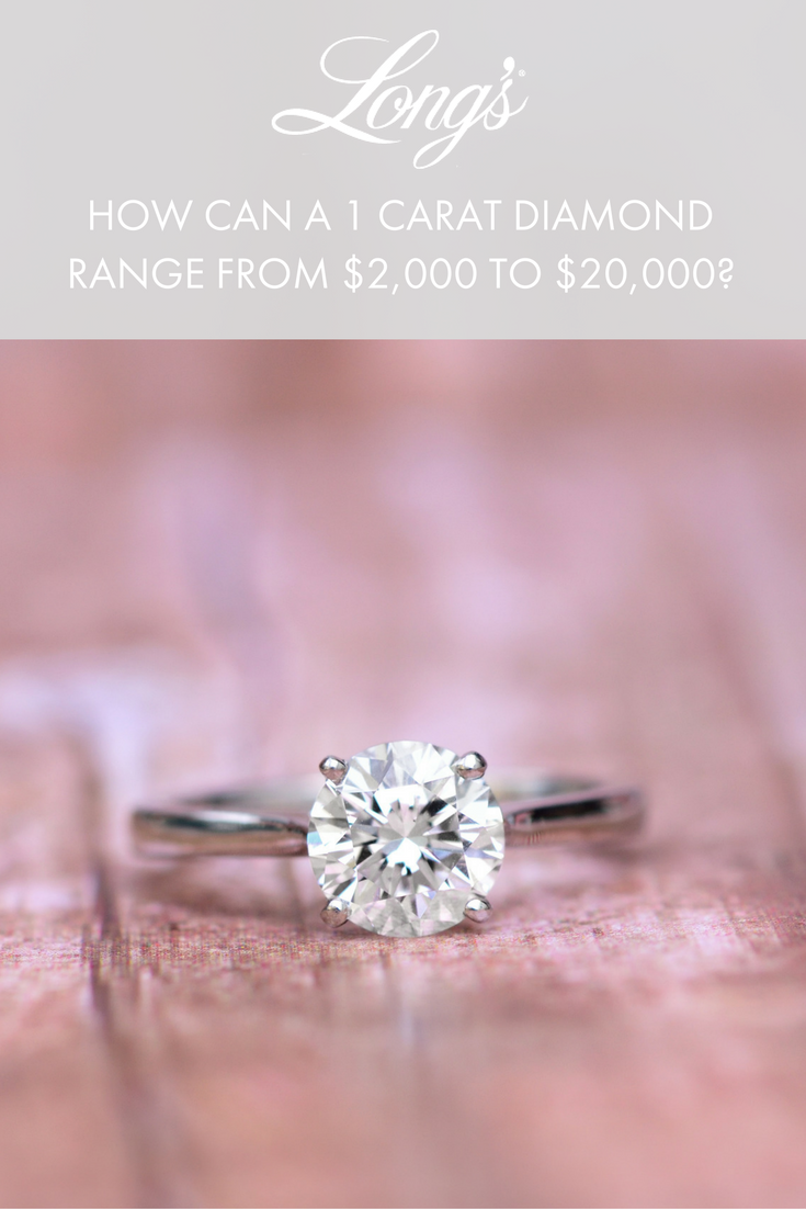 How Can A 1 Carat Diamond Range From 2 000 To 20 000 Diamond Engagement Rings Engagement