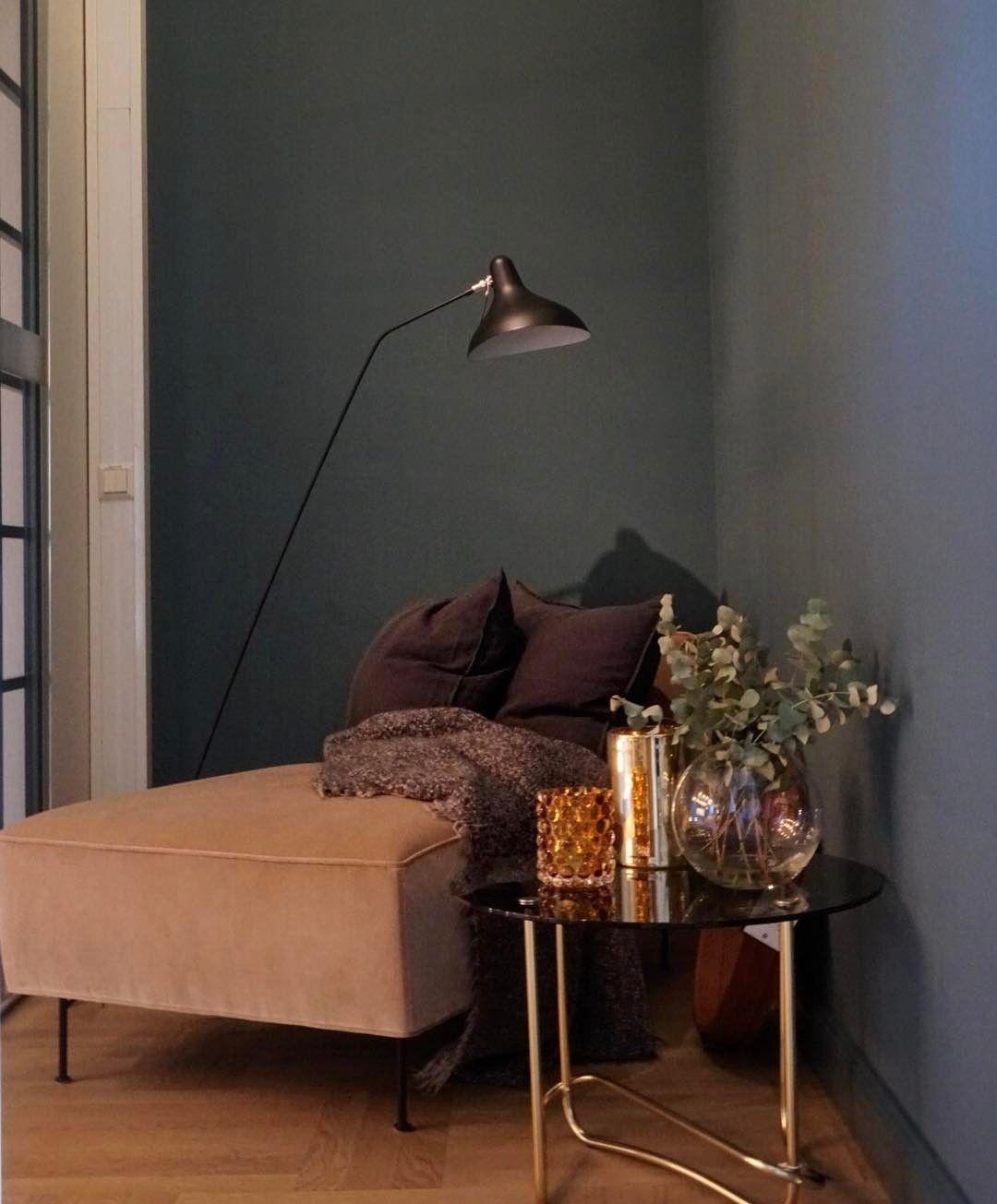 Gubi Modern Line Chaise Longue By Greta M Grossman Home Decor Rich Home Cosy Corner