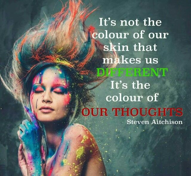 Colour of your thoughts