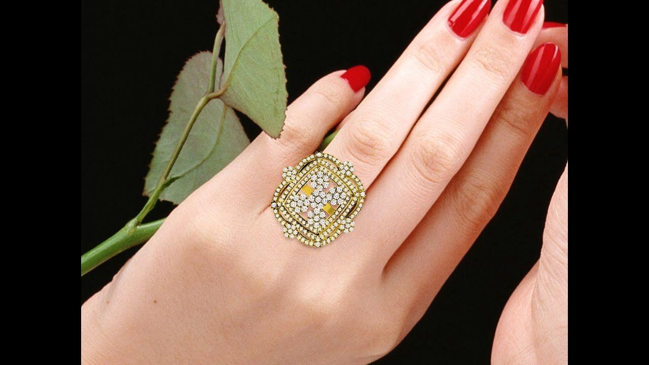 טבעת וינג יהלומים - R47563-1