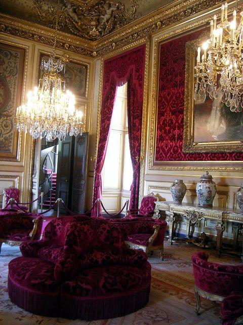 Apartments of Napoleon III , Louvre , Paris , France