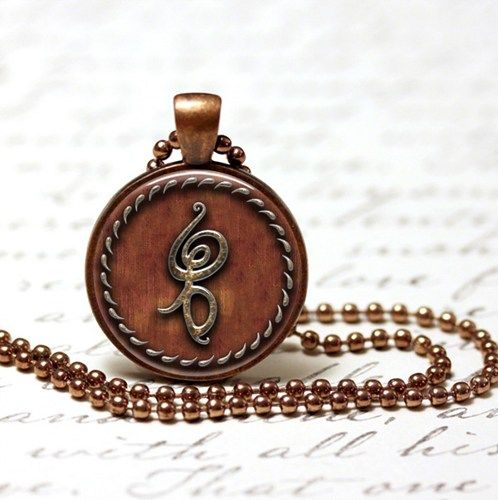 Hakuna Matata Symbol Pendant In Copper Hakuna Matata Symbol