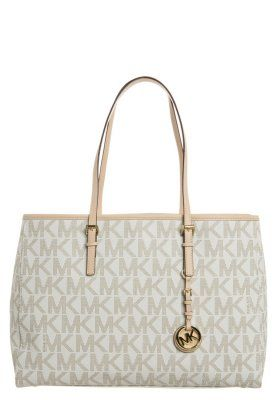 71f3909909d2 MICHAEL Michael Kors JET SET TRAVEL - Shopping Bag - vanilla - Zalando.at